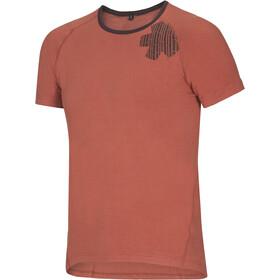 Ocun Bamboo T Blossom T-Shirt Homme, rooibos tea